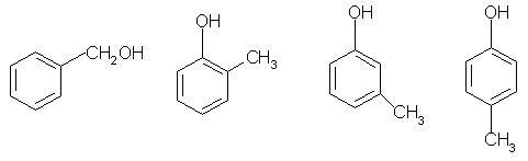 答案为b,分子式为c7h8o,故其含有羟基的芳香族化合共有四种:分别为苯图片