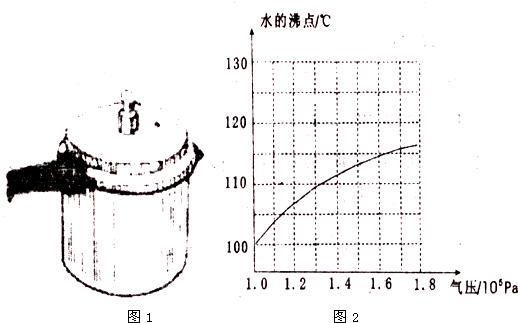 在1标准大气压下水的沸点是100℃图片