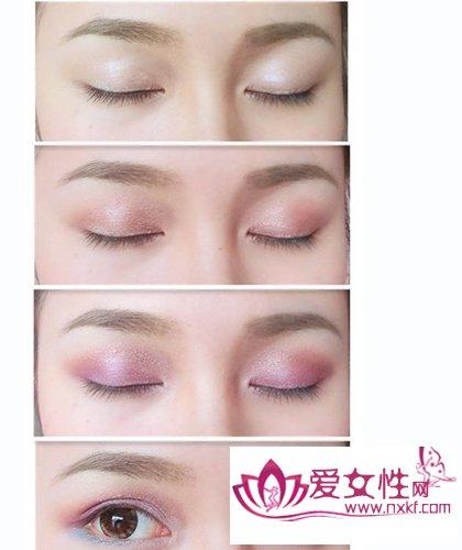 高清下载 眼影的画法图解 眼影的画法图解图片