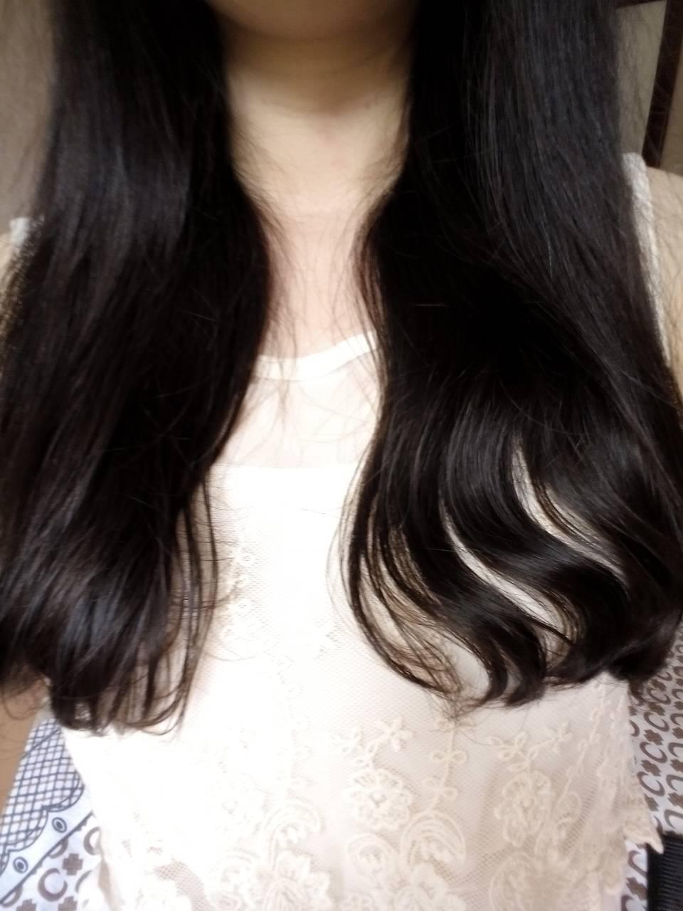 养发 回答 我也烫了头发毛躁 嗯嗯,发膜护发素 发油是抹上立马就好的图片