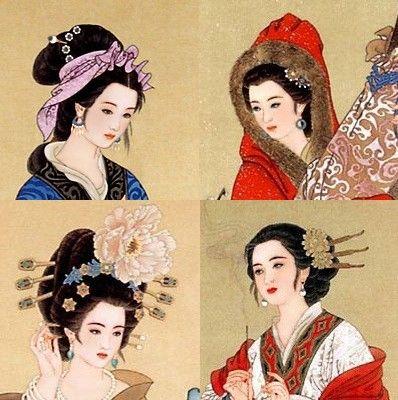 中国四大美女分别是谁