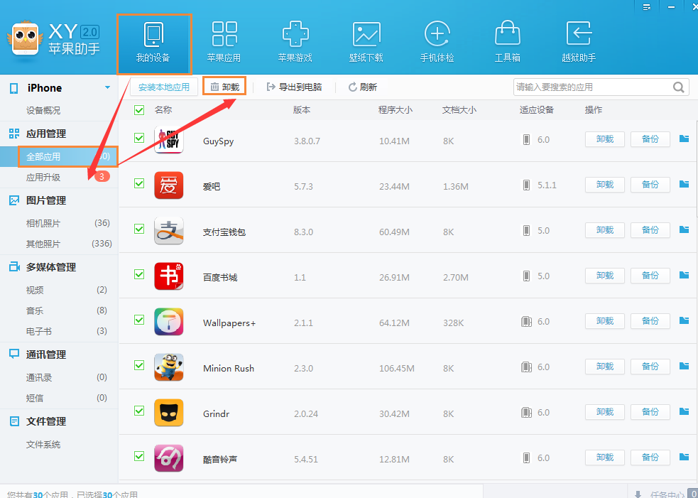苹果手机已经越过狱了,pp助手里下载的软件能下载成功