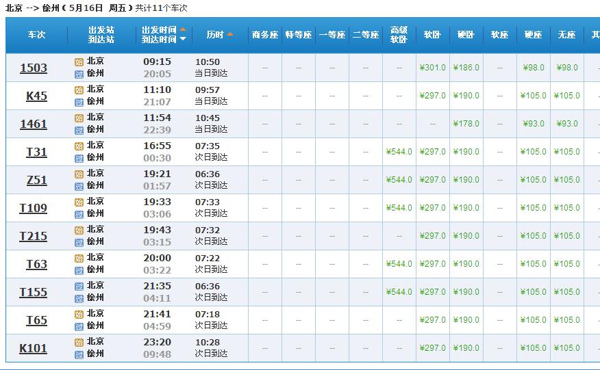 徐州到西安d306在火车站停么图片