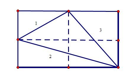 三角形的长宽高怎么分