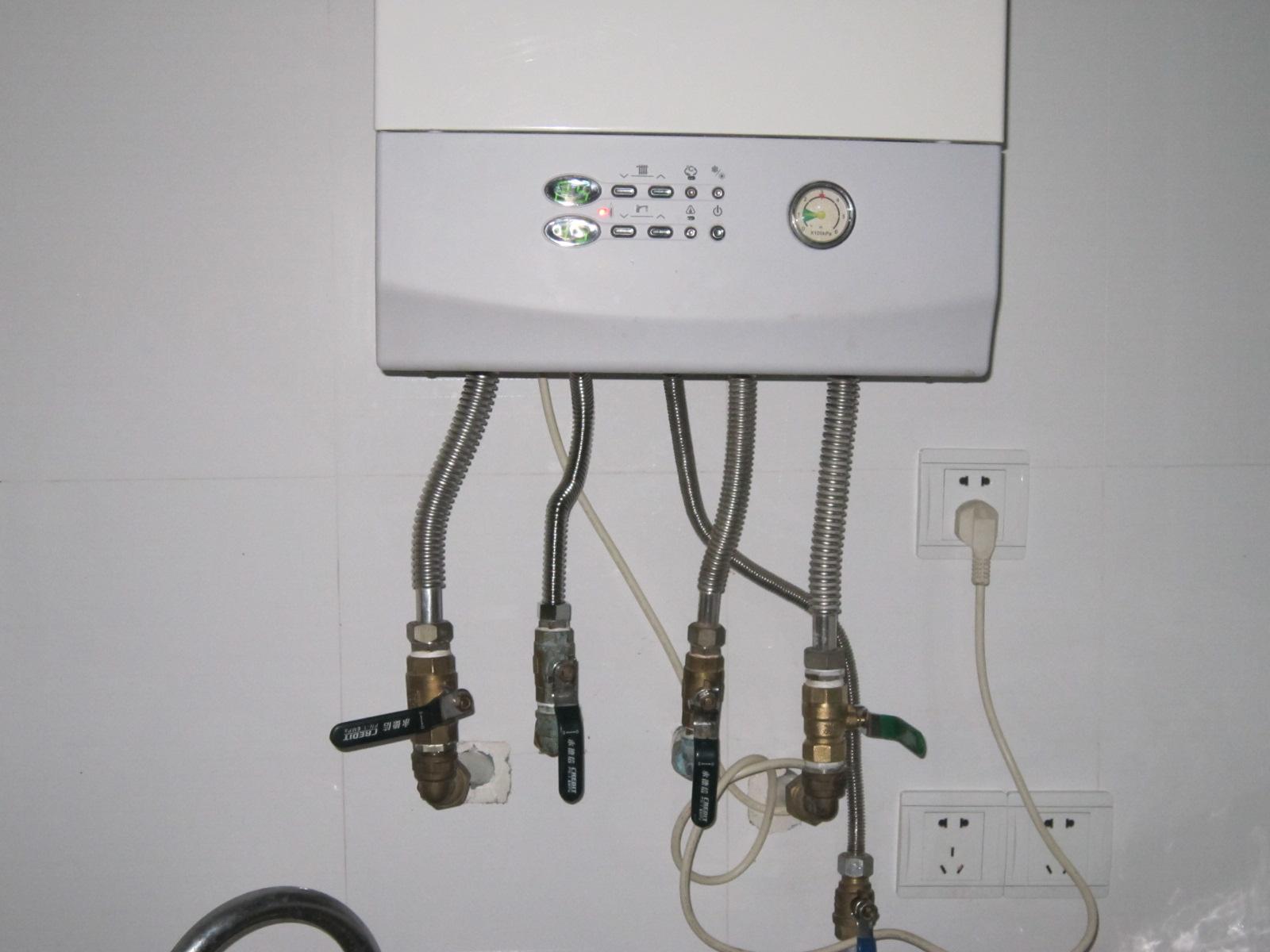 燃气热水器未安装是否热水龙头冷水也不出图片