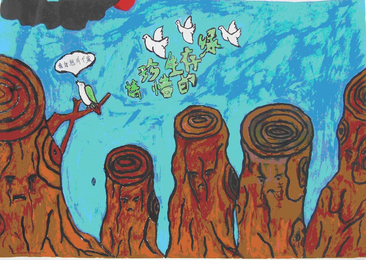 六年级上册美术作品_画画大全图片