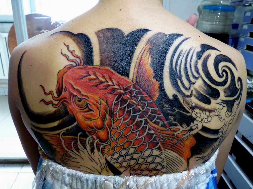 锦鲤纹身有什么讲究图片