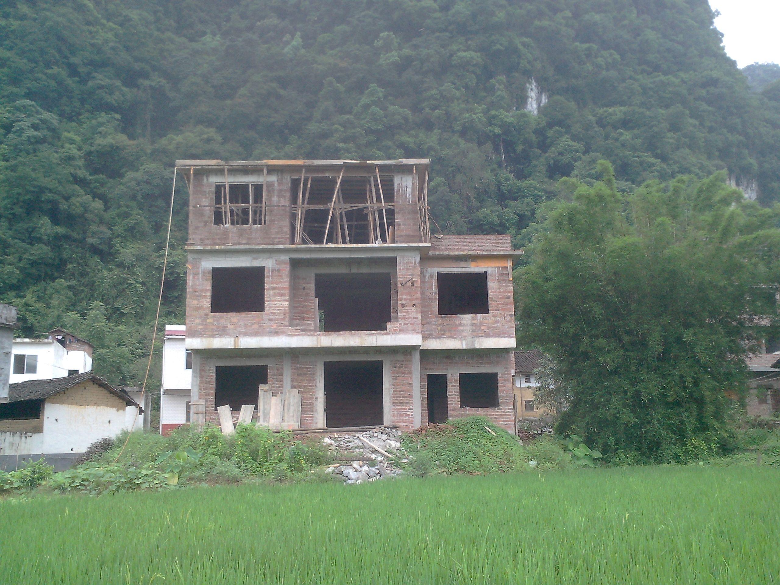 农村房屋设计效果图 高清图片