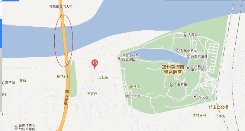 桃花峪黄河大桥在哪