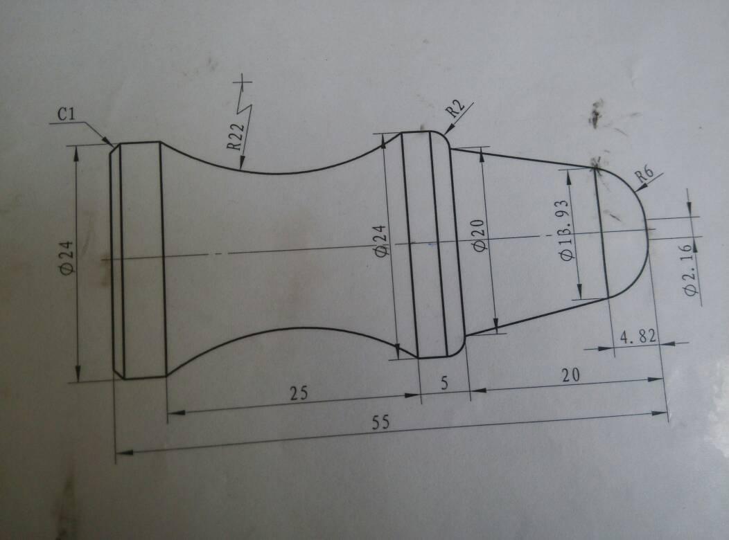 数控车床编程,急求图片