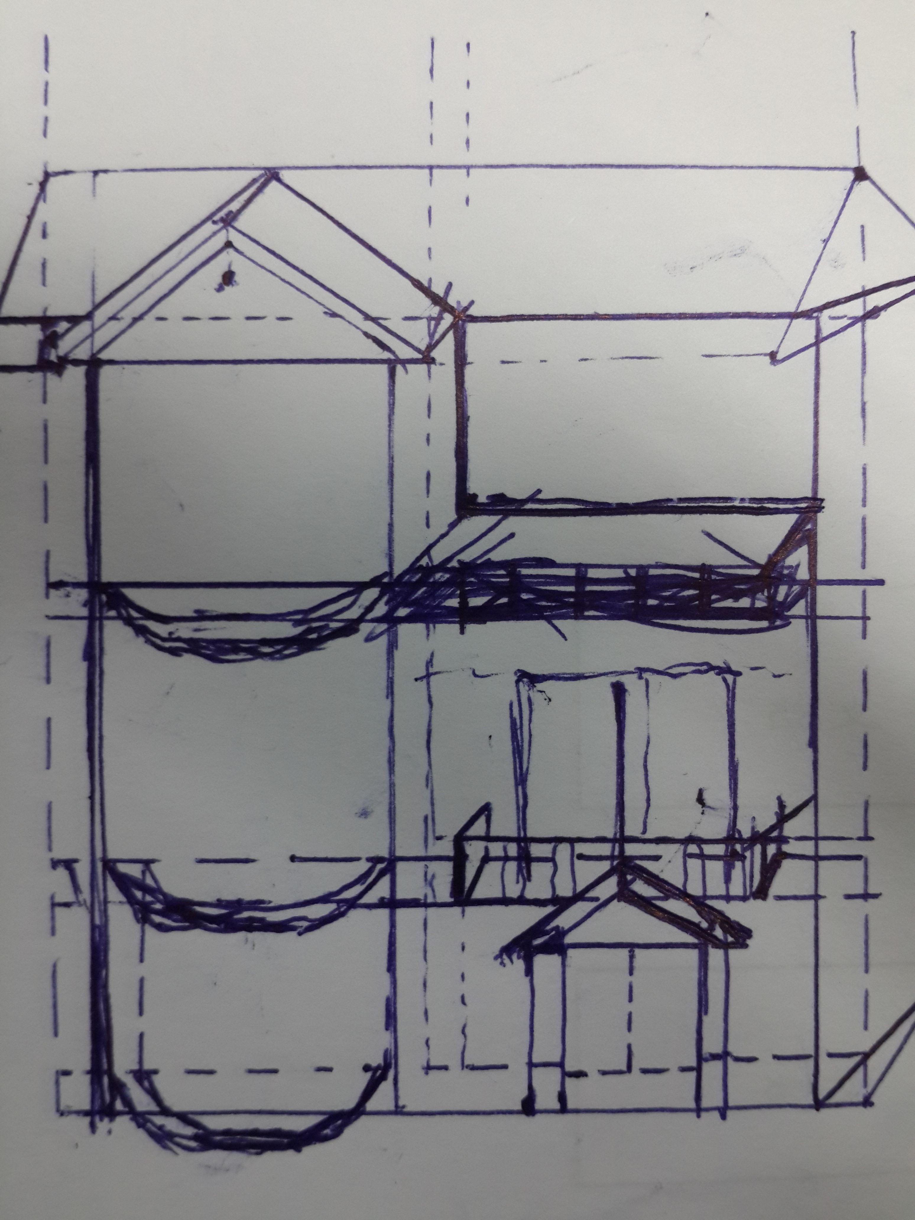 大致预想的效果大致如图,房子坐南朝北(正面宽度为8m,深度为11.图片