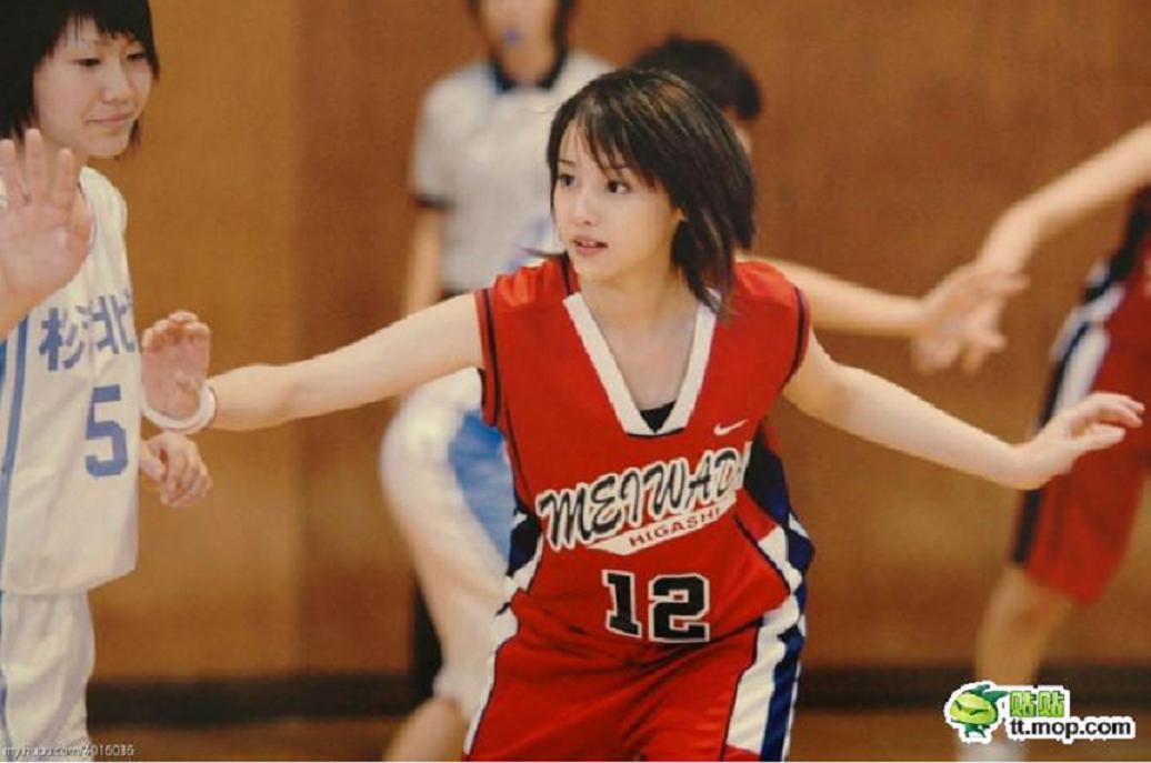 这才是真正的日本篮球美女
