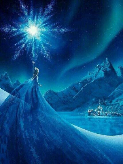 - Papier peint reine des neiges ...
