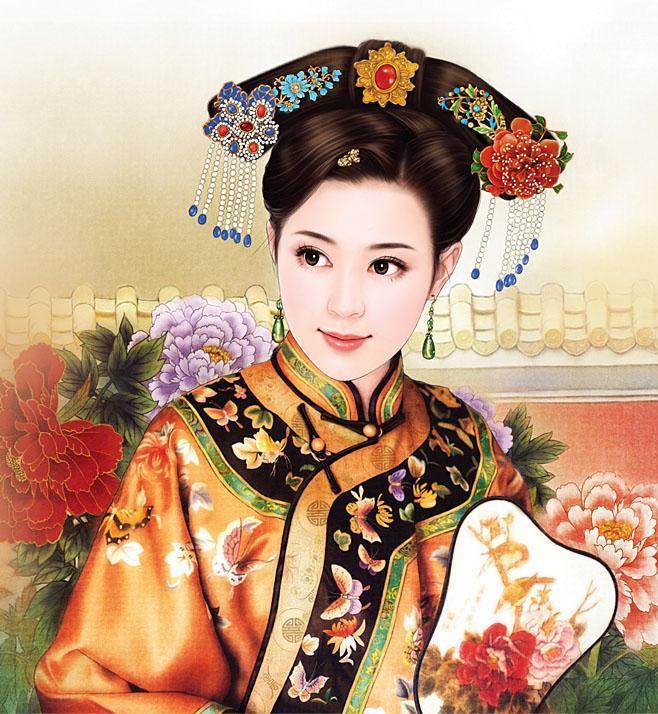 古代清朝福晋的段落。(是清朝的,不要描写汉服 ...