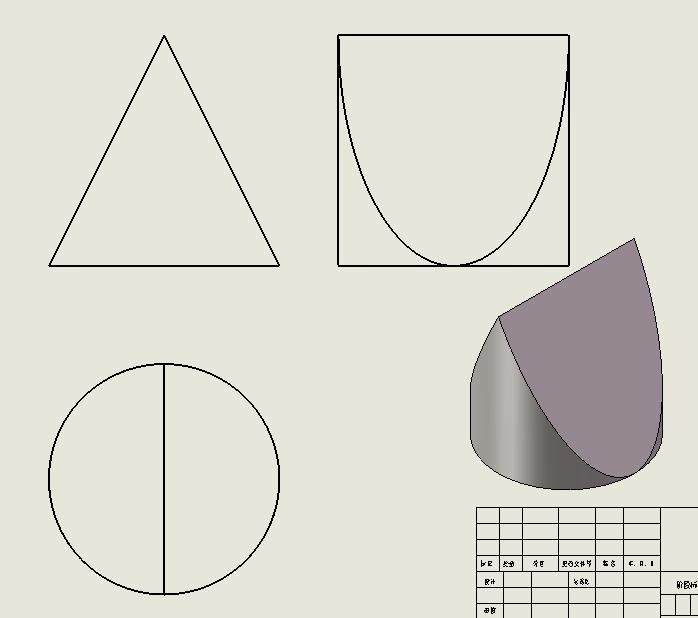 三视图分别是正方形,圆形图片