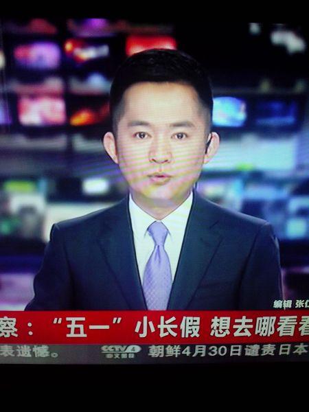 中文国际主持_他是cctv中文国际台的主持人!