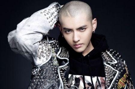 一个光头的中国歌手爱戴帽子叫什么奕凡图片