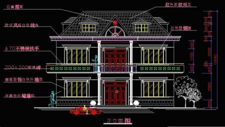 两层半房屋设计图