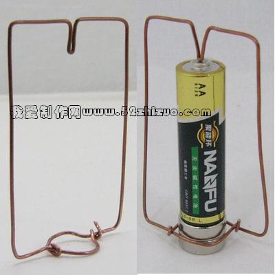 通电类科技小制作 简单 不要那些羽毛球之类.手电筒的 快图片