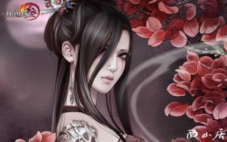 求些妖娆唯美的古风女子图片