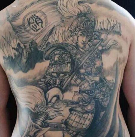 纹身图案赵子龙有什么说的 (450x459)-沈阳纹身 赵云纹身图案