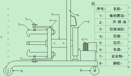 电动液压拉马其实没有什么线路图,电动油泵需要连接电源,清楚油管的图片