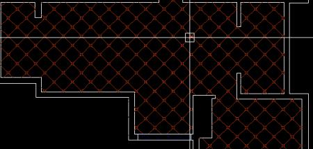 中式地板砖铺贴平面图