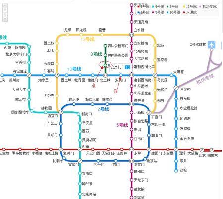 奥林匹克森林公园奥体中心什么的是地铁图片