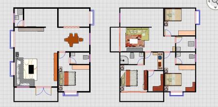 农村9.5米宽11米深 两层自建房 拜求设计图图片