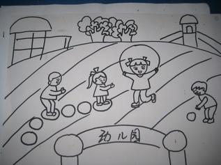 幼儿园小朋友简笔画