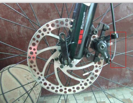 自行车线碟和油碟外观有什么区别?图片