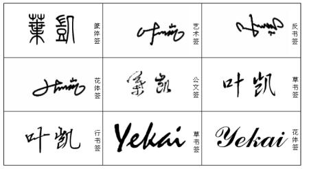 各种书法字体大全名称_专业设计,多种字体任你选!