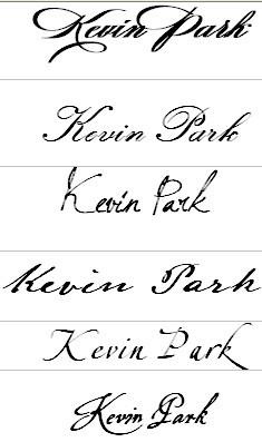 我的英文名字是kevin图片