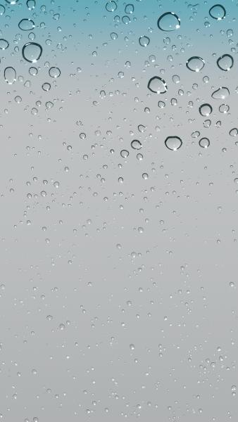 谁有iphone 5自带的高清水滴壁纸?图片
