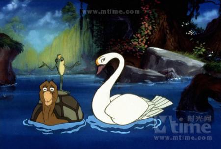 迫切寻一部动画电影 有关一个女孩被变成天鹅的