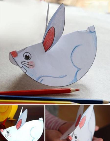 如何diy小学生环保手工制作剪贴画方法图解图片