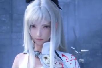 这个白头发女人是哪部游戏里的女主?图片