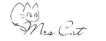 求以下图片里的黑白线条的猫logo图片