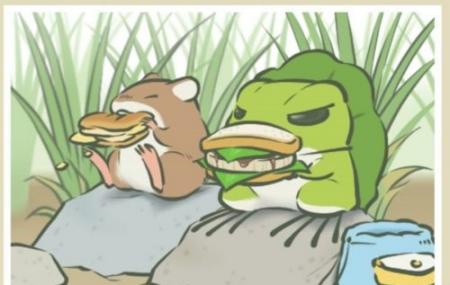 旅行青蛙图片