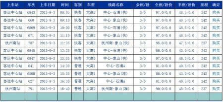 靖江到杭州汽车时刻表 靖江到南京汽车时刻表 靖江客车时刻表 靖江到高清图片