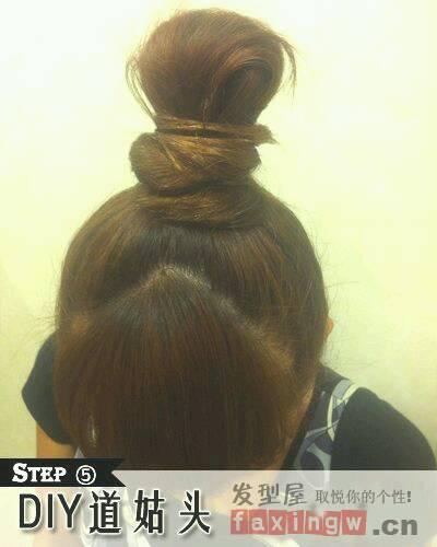 怎么绑头发图片