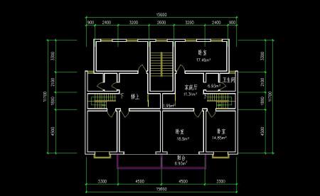 我自己设计的农村楼房房间,望懂风水的朋友指点一下,设计合理吗?图片
