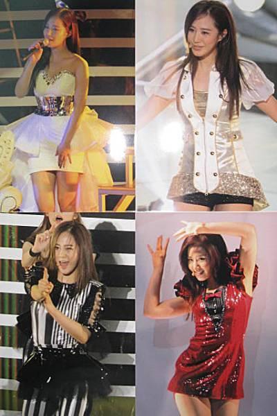 少女时代日本二巡权侑莉演唱会服装 竖