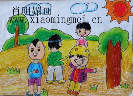 六一儿童节现场画画 的图画图片