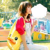 qq头像女生吃棉花糖望着天空
