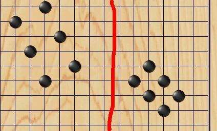 谁知道五子棋的梅花阵图片