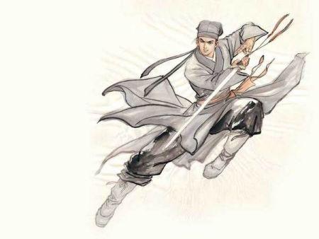 求一些武侠男剑客动漫人物(类似慕容紫英)全身图,男的图片