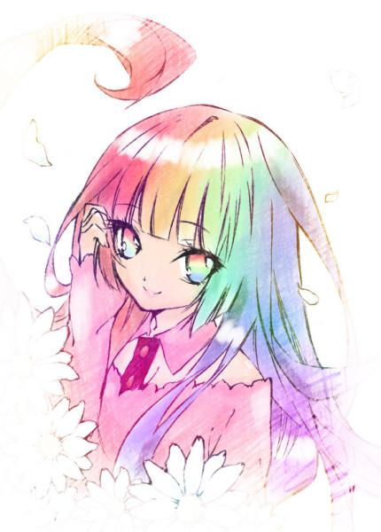 要这几张图片高清原图 有类似的七彩头发玛丽苏什么的图片
