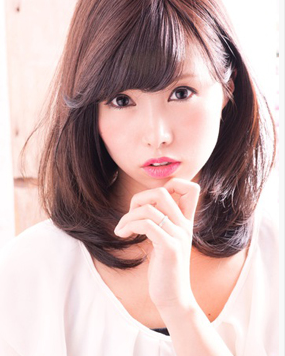 我国字脸,适合什么样的刘海和发型?图片