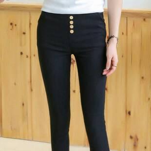 现在好多女生穿的黑色的紧的那个裤子叫什么?